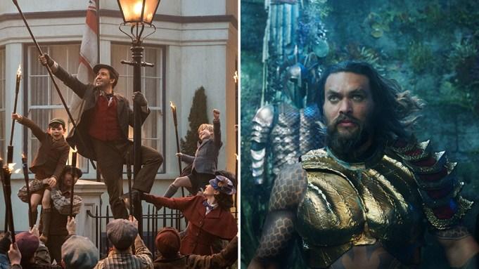 Box Office: 'Aquaman,' 'Mary Poppins Returns'