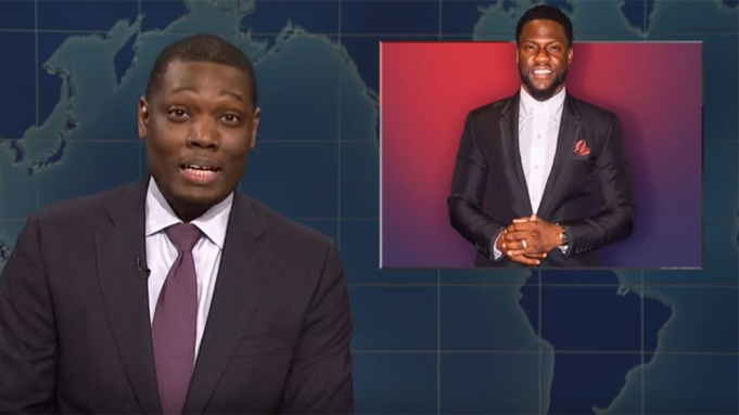 Michael Che Defends Kevin Hart on