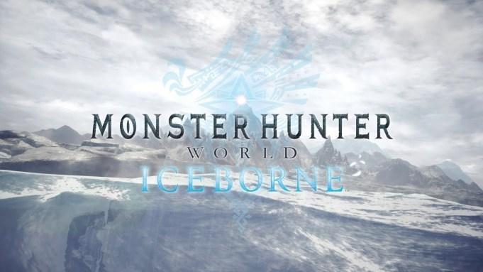 'Monster Hunter: World' Expansion Iceborne Coming