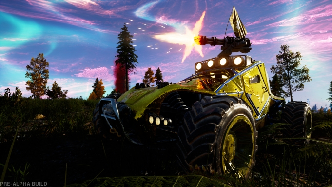 Vehicular Battle Royale Game 'Notmycar' Coming
