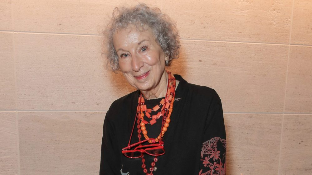 Margaret Atwood Make Equality Reality Gala, Inside, Los Angeles, USA - 03 Dec 2018