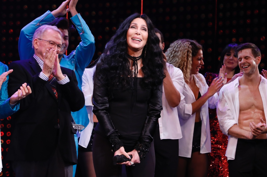 Cher 'The Cher Show' Broadway opening, Inside, New York, USA - 03 Dec 2018