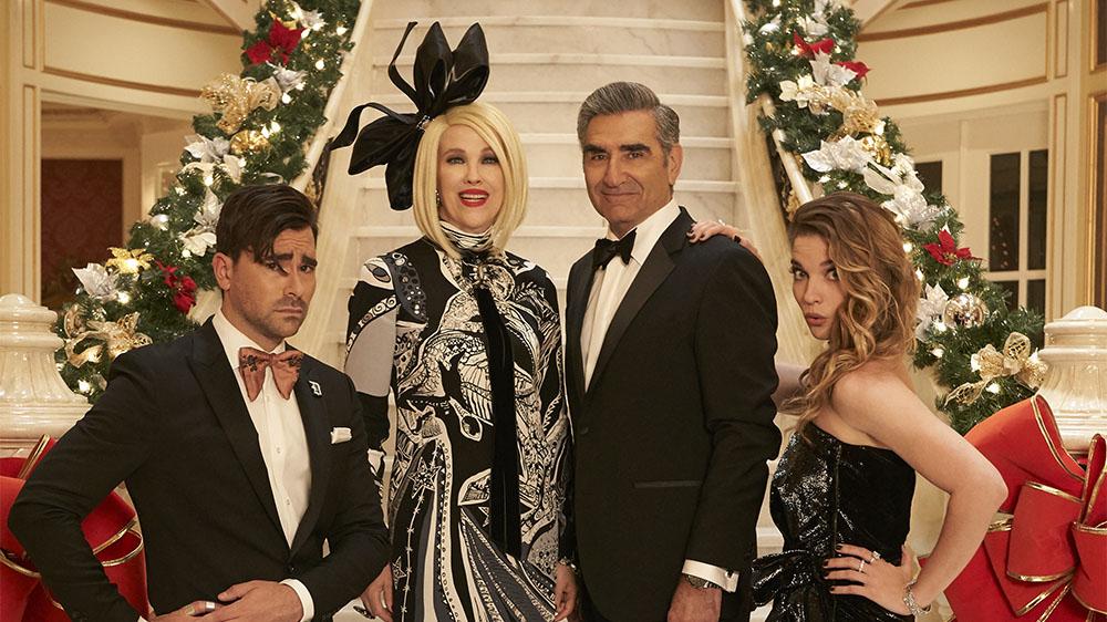 TV Review: 'Schitt's Creek' Christmas Special   Variety