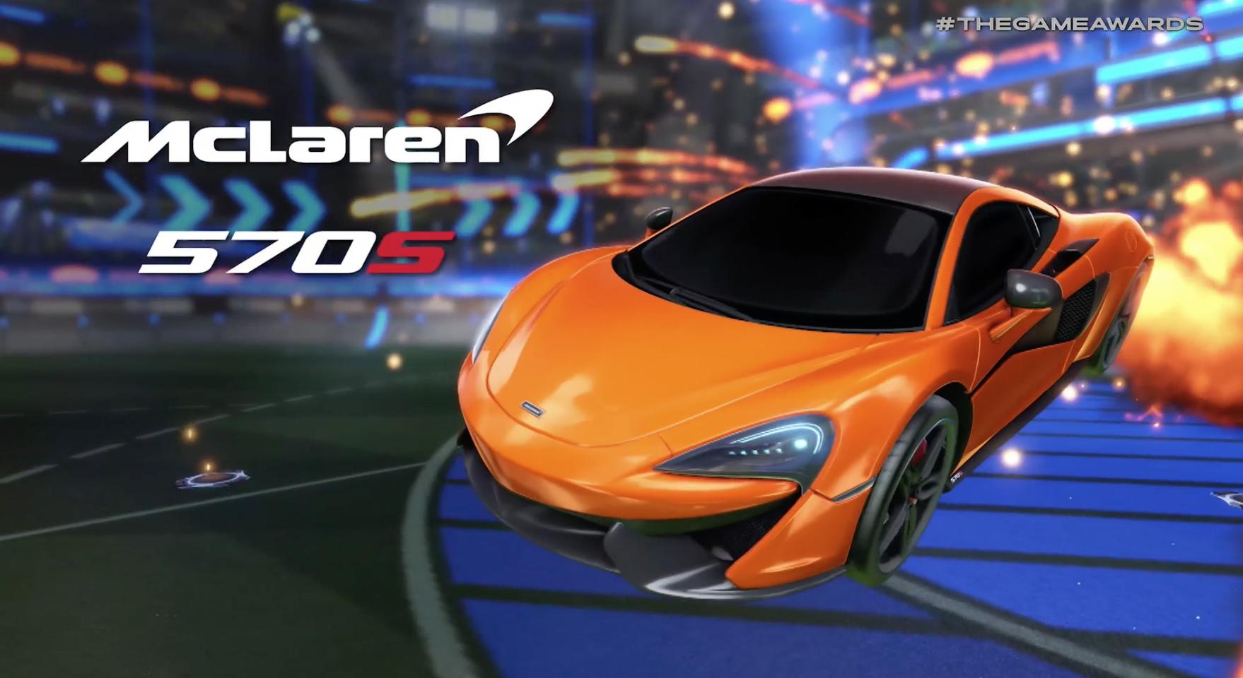 Rocket League Gets New Mclaren 570s Car Pack Variety