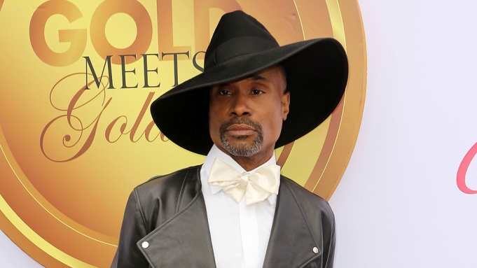 Billy Porter arrives at the '6th