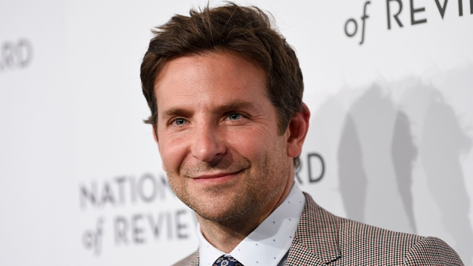 Best director award honoree Bradley Cooper