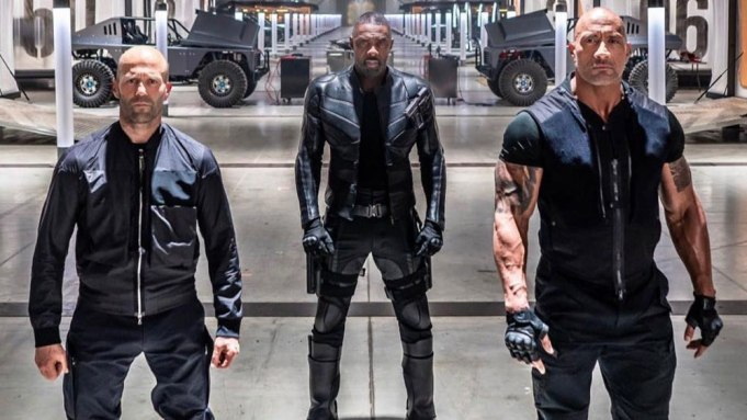 Hobbs and Shaw trailer