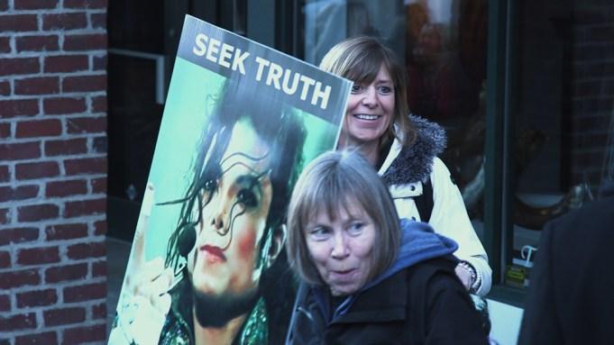 Michael Jackson Sundance protest