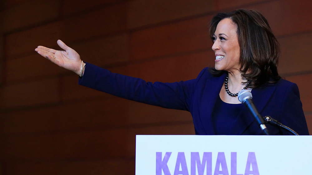 Kamala Harris Officially Launches 2020 With Promise To Take On Trump Variety