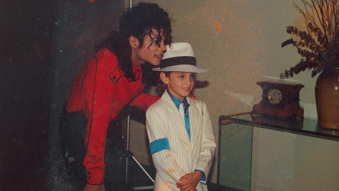 A still from Leaving Neverland by