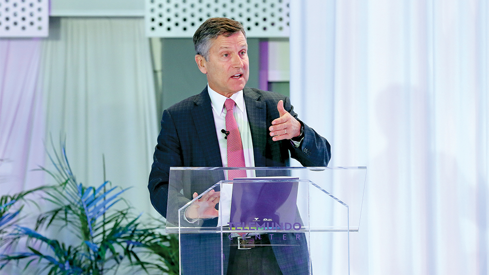 NBCUniversal's Steve Burke on Streaming Wars: 'This Is a Moment in Time'