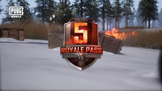 'PUBG Mobile' Royale Pass Season 5