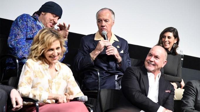 Steven Van Zandt, Edie Falco, Tony