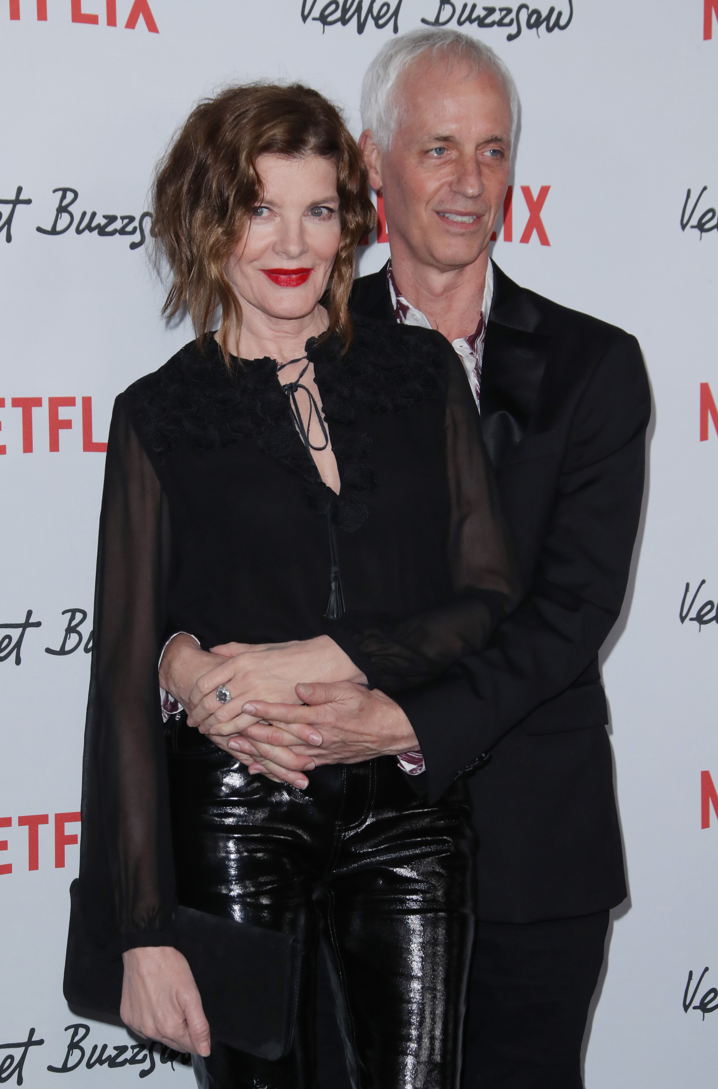 Rene Russo and Dan Gilroy'Velvet Buzzsaw' film premiere, Arrivals, The Egyptian Theatre, Los Angeles, USA - 28 Jan 2019