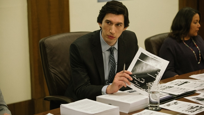 Adam Driver appears in The Report