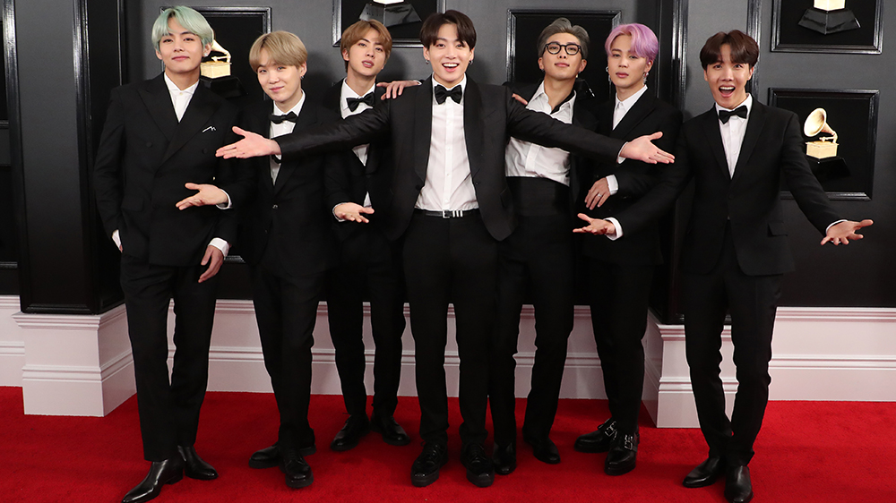 bts makes grammys debut wants to work with lady gaga variety https variety com 2019 music news bts grammys lady gaga watch 1203135187