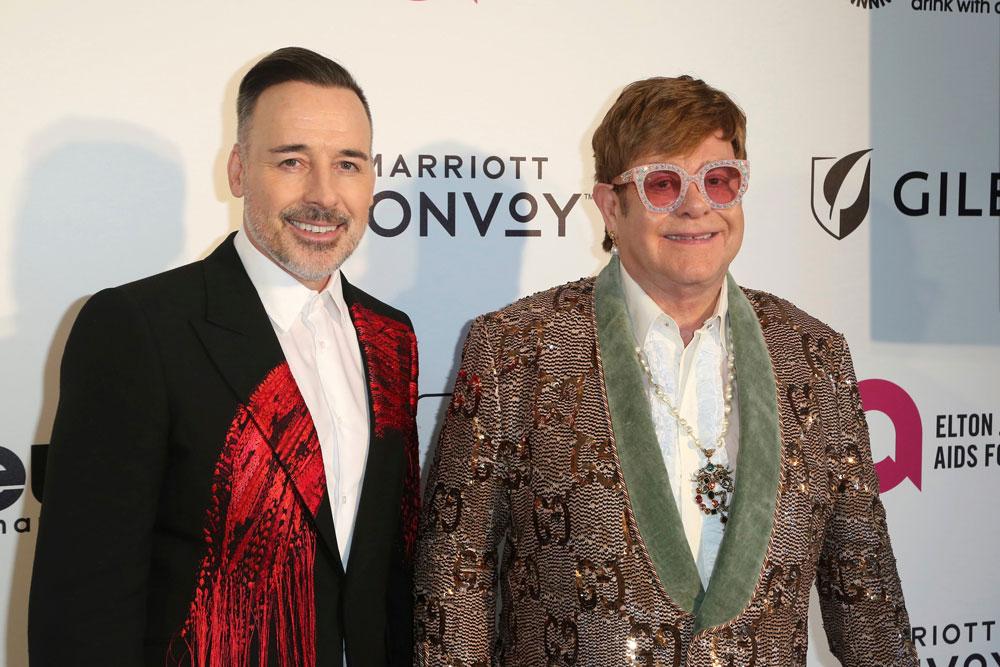 David Furnish Elton John