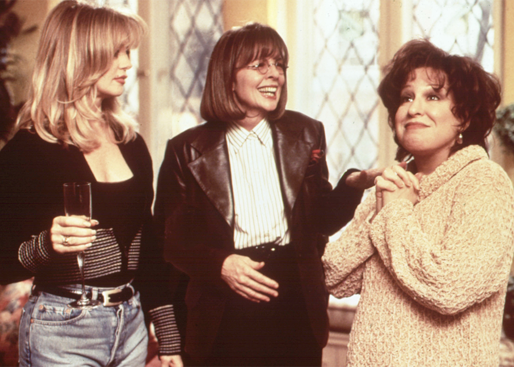 Editorial use only. No book cover usage.Mandatory Credit: Photo by Moviestore/REX/Shutterstock (1631423a)The First Wives Club, Goldie Hawn, Diane Keaton, Bette MidlerFilm and Television