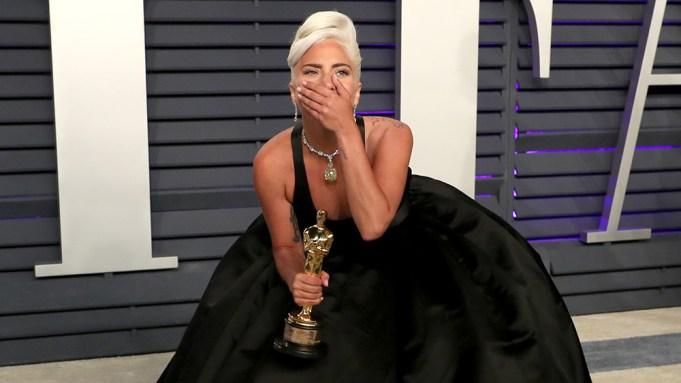 Lady Gaga Vanity Fair Oscar Party,