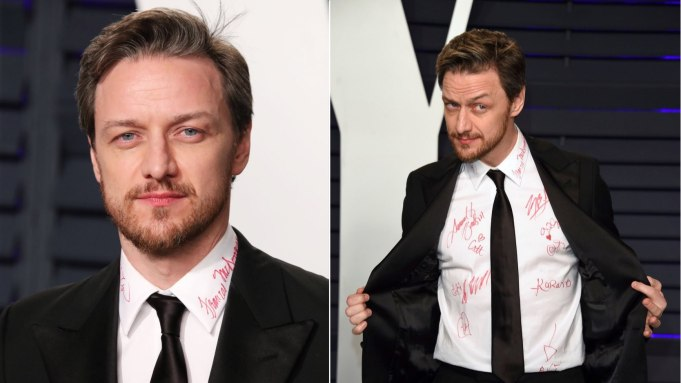 James McAvoy Wants Oscar Celebrities To