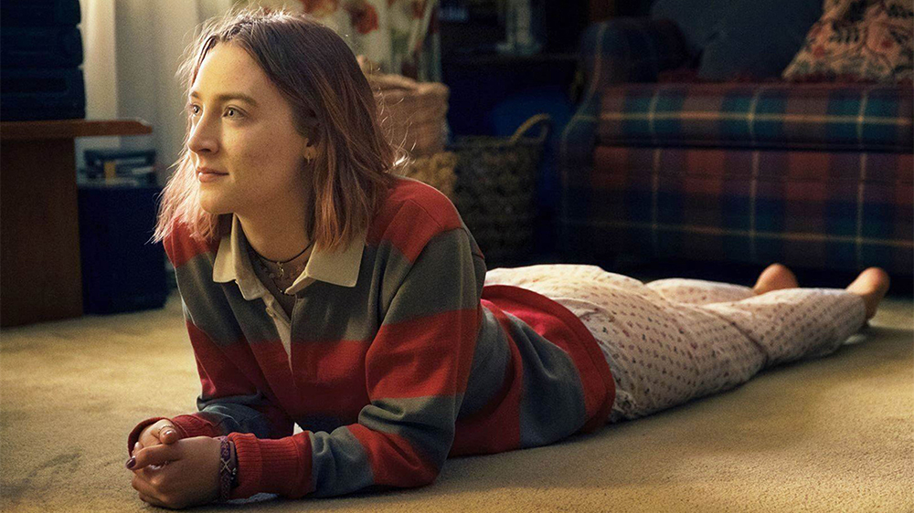 Editorial use only. No book cover usage.Mandatory Credit: Photo by Moviestore/REX/Shutterstock (9224473e)Saoirse RonanLady Bird - 2017