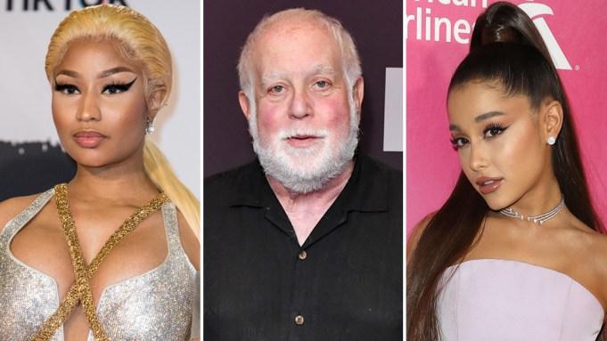 Nicki Minaj Ken Ehrlich Ariana Grande