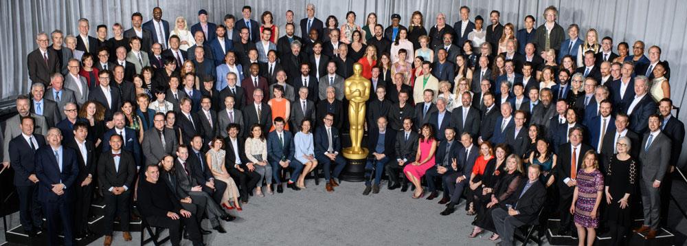 Oscars 2019 class photo