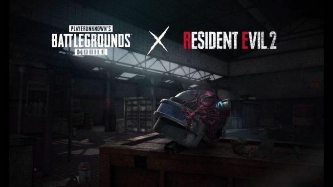 'PUBG Mobile' x 'Resident Evil 2'