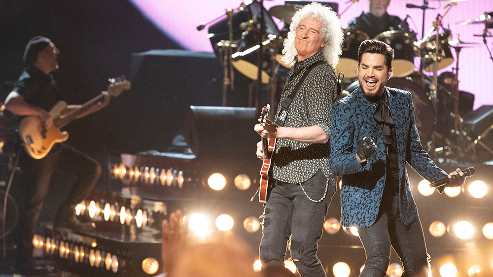 Five Great Moments From Queen Adam Lambert S New York Concert Variety