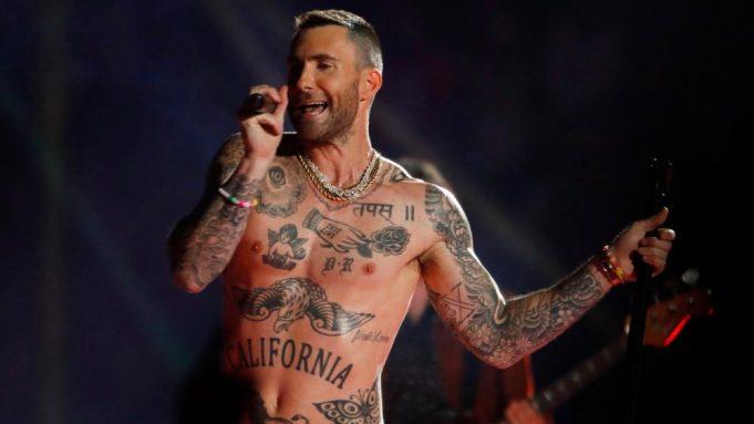 Maroon 5's Adam Levine performs during
