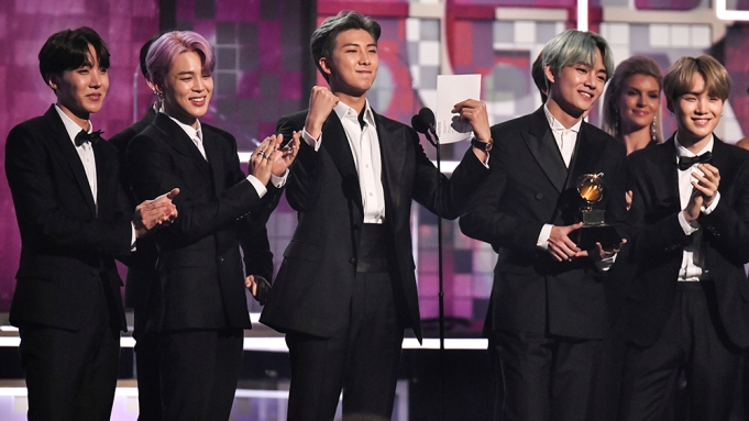 The Best Grammys Bts 2019