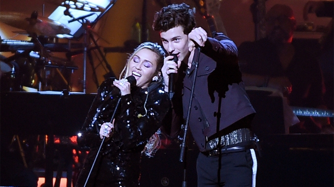 Miley Cyrus, Shawn MendesMusiCares Person of