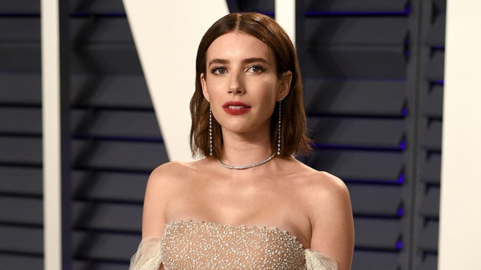 Emma Roberts arrives at the Vanity Fair Oscar Party, in Beverly Hills, Calif91st Academy Awards - Vanity Fair Oscar Party, Beverly Hills, USA - 24 Feb 2019