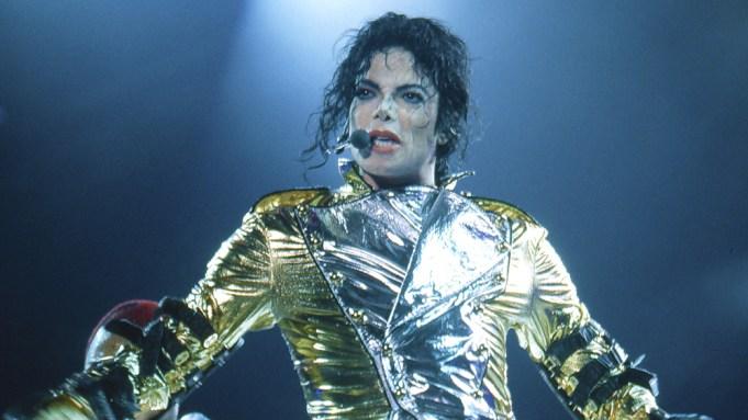 Michael Jackson in concert in Milton Keynes, BritainVarious