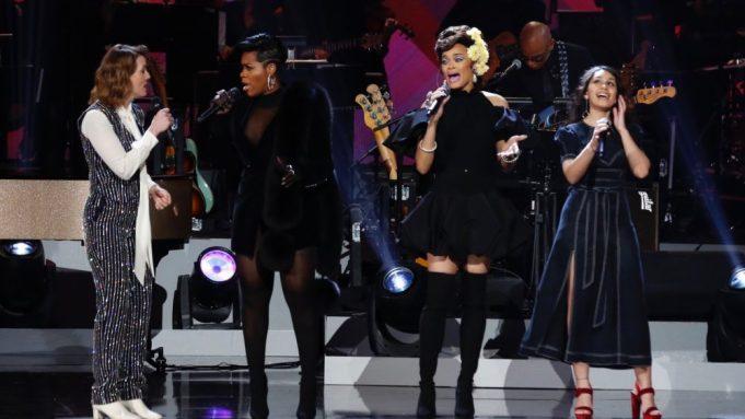 Alicia Keys, Jennifer Hudson Shine in