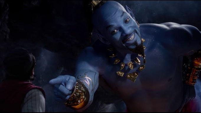 'Aladdin' Trailer Spotlights Will Smith's Genie