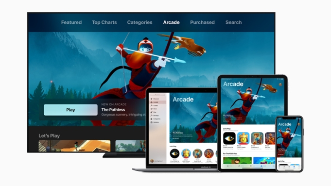 Apple Announces Gaming Subscription Service