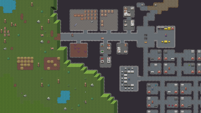 Roguelike Building Sim 'Dwarf Fortress' Coming