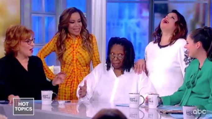 Whoopi Goldberg Returns to 'The View,'