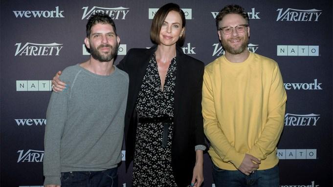 Director Jonathan Levine,Charlize Theron,Seth Rogen