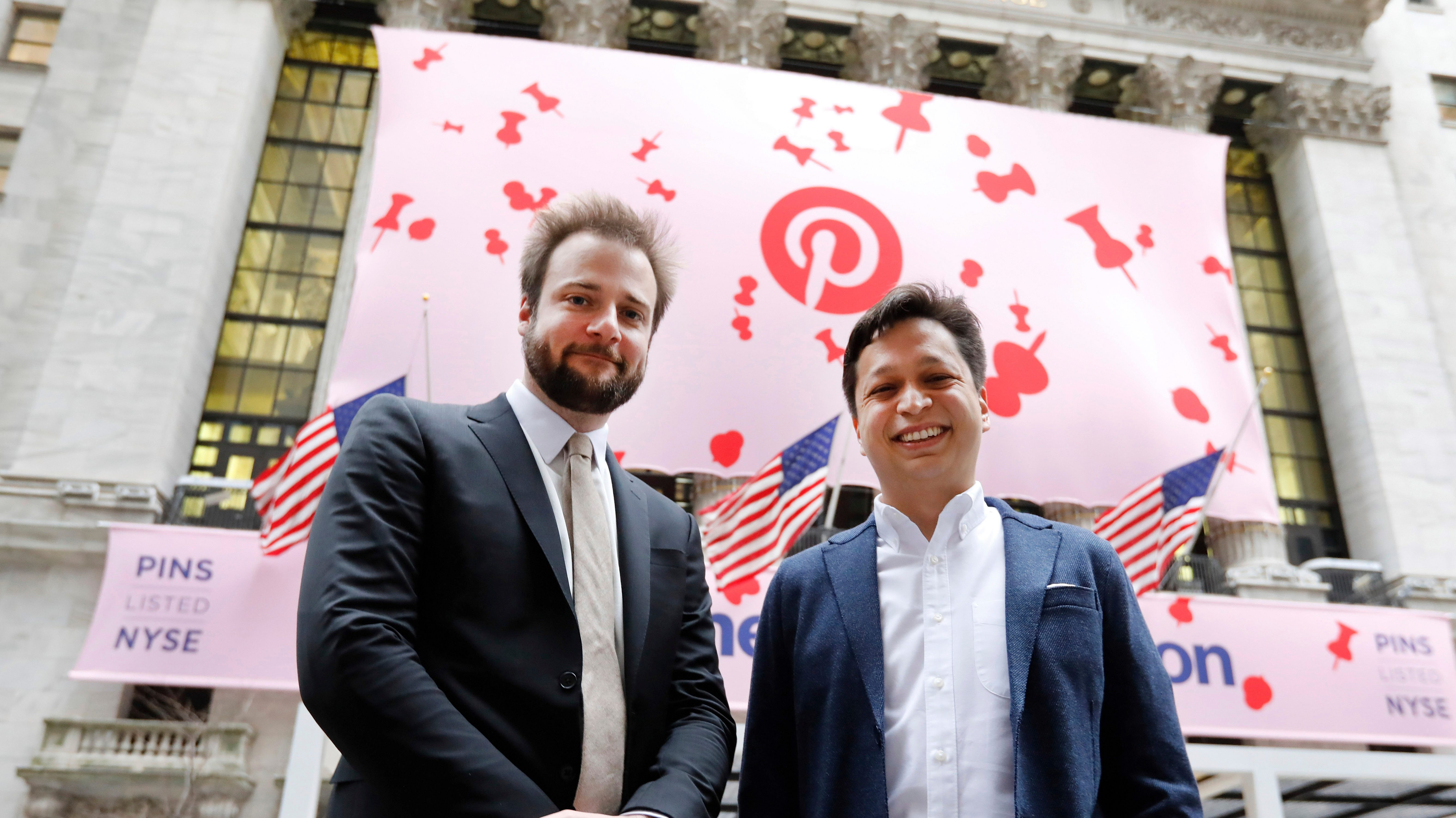 Pinterest Shares Up 20 Percent of First Day of Trading   Variety