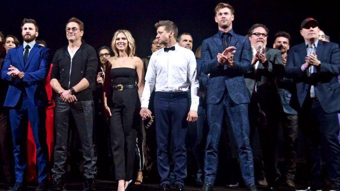 'Avengers: Endgame' Stars Make Emotional Speeches