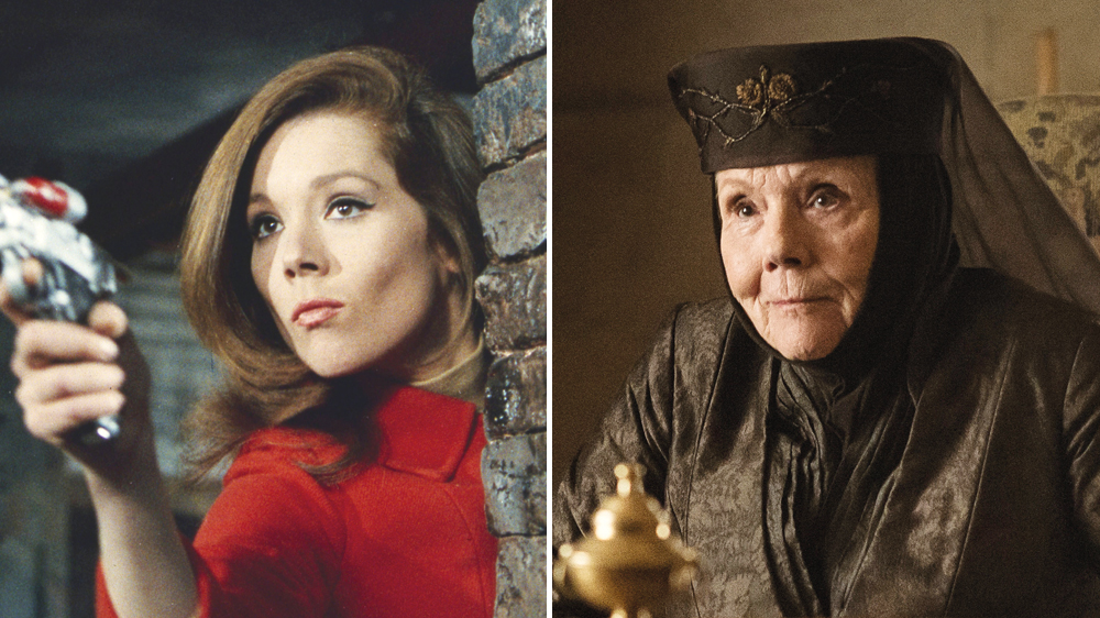 diana rigg reflects on road to parity avengers and got roles variety diana rigg reflects on road to parity