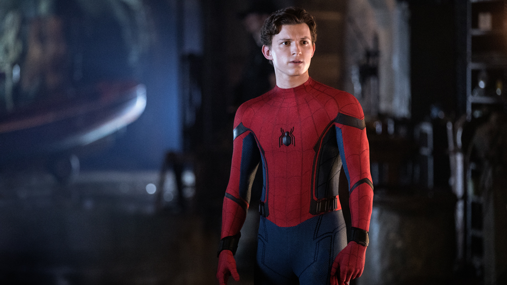 """Peter Parker/Spider-Man (Tom Holland) in """"Spider-Man: Far From Home"""" (2019)"""