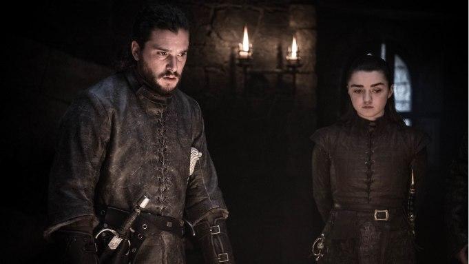 Jon Snow Arya Stark Game of