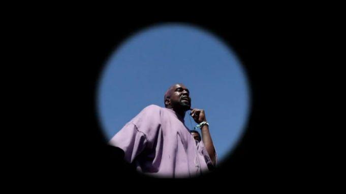 Kanye West Takes Coachella to Church