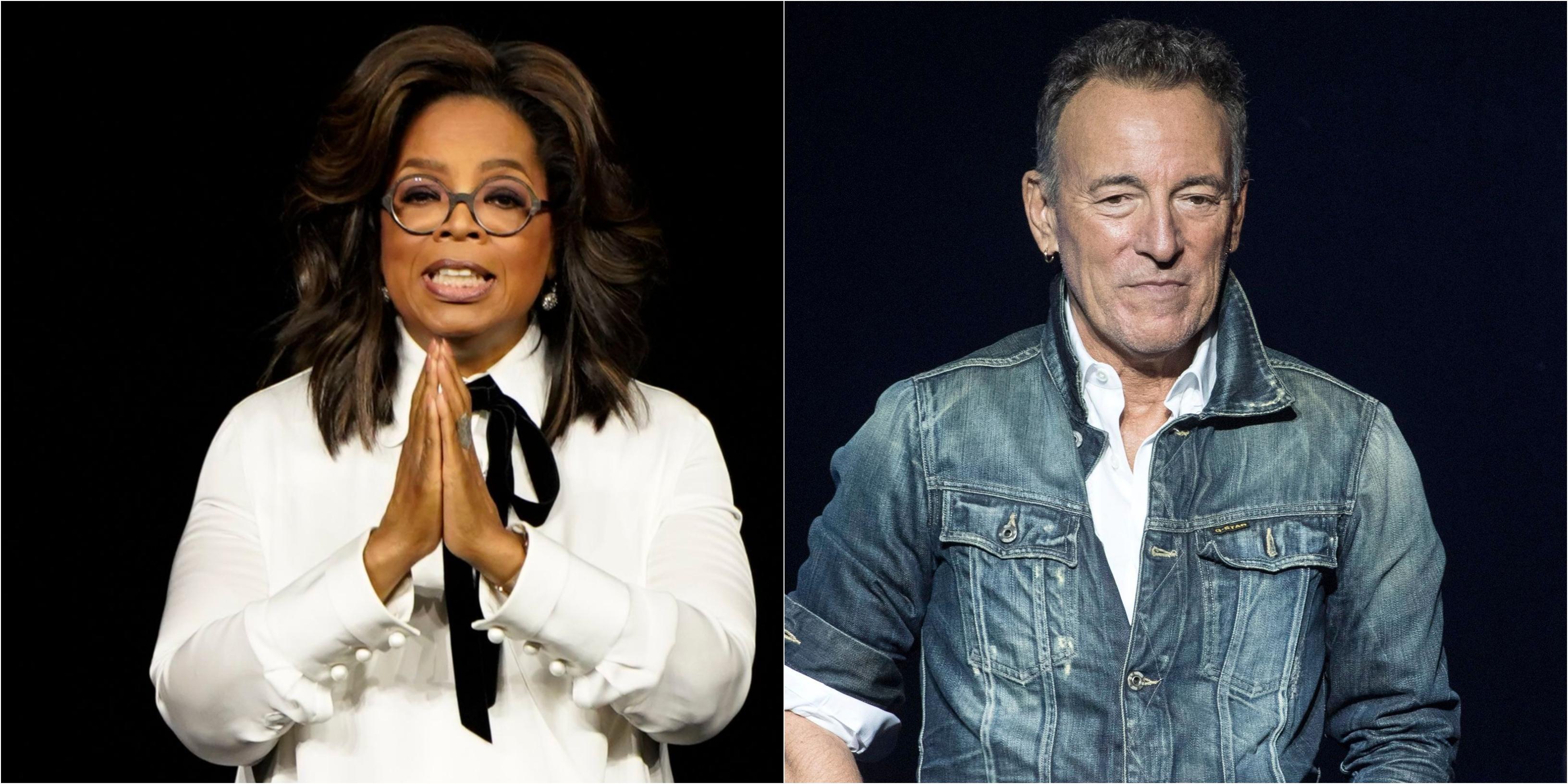 Oprah Winfrey, Bruce Springsteen Headline Netflix's Emmy ...