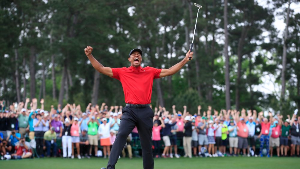Tiger Woods Masters Victory Draws Crowd For Cbs Variety