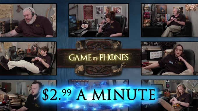 Game of Thrones Game of Phones