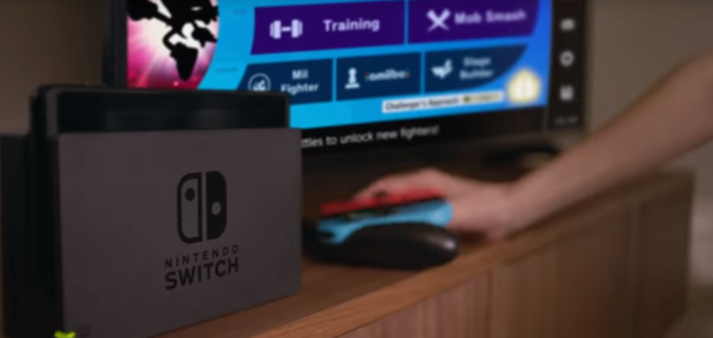 """Lower right hand corner shows """"Stage Builder"""" could be coming to """"Super Smash Bros. Ultimate"""" soon."""